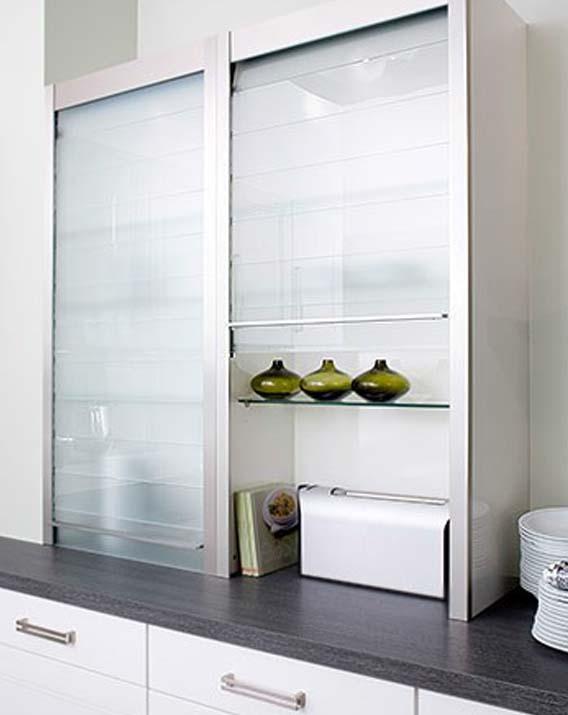Persiana rauvolet vetro line herraxa - Persianas para muebles de cocina ...