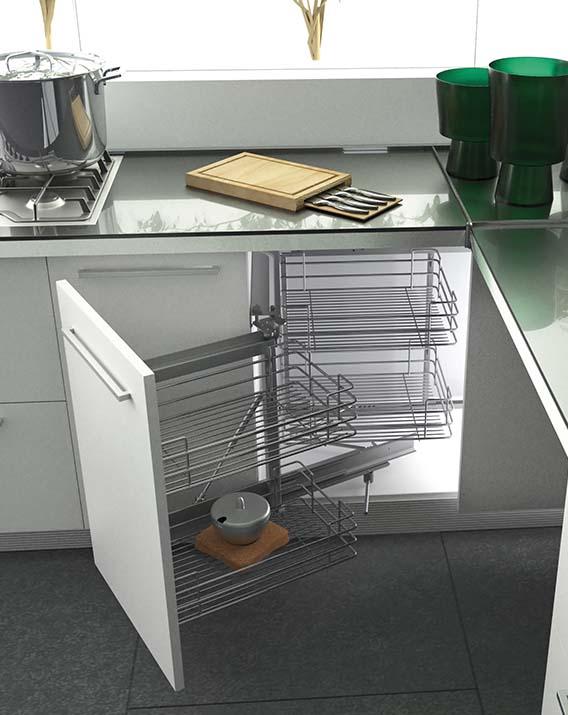 Esquinero m gico green line herraxa - Muebles de cocina esquineros ...