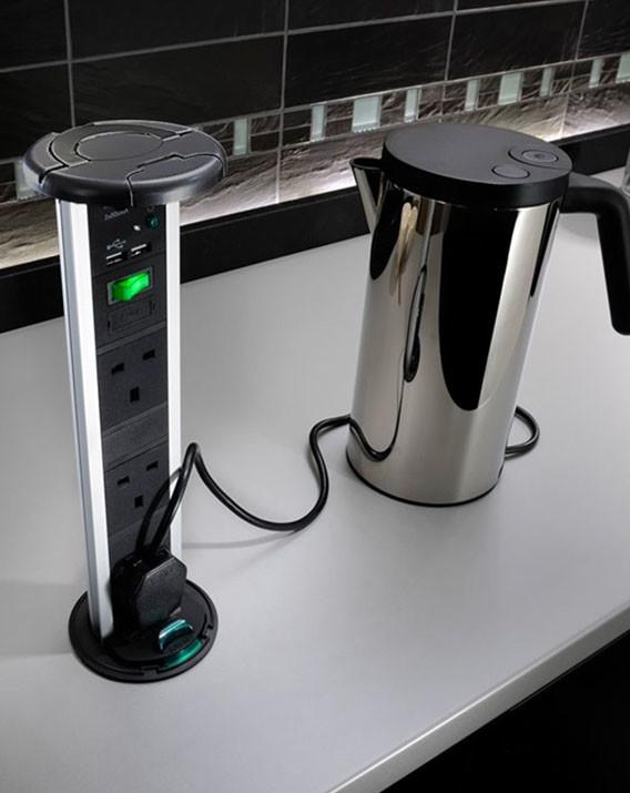 Torre multicontacto herraxa for Contacto cocina